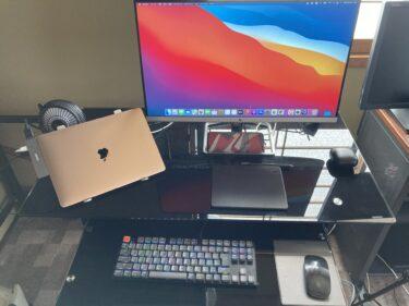 MacBook Airをクラムシェルモードで使う メリット デメリット【熱対策】【スタンド】【キーボード】【マウス】【スタンド】