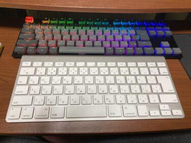 【 Apple】Mac純正Magic KeyboardとKeychron K1 ワイヤレス・メカニカルキーボードの比較 【MacBook Air】